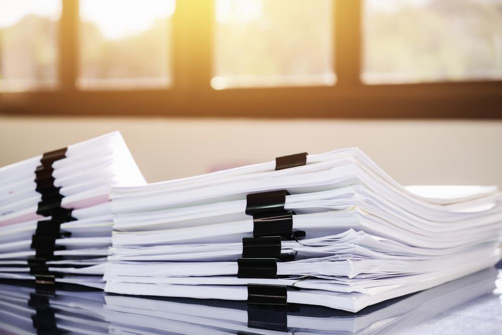 Wichtige Dokumente sollten immer geordnet aufbewahrt werden